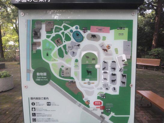 井の頭公園・自然文化園の案内図