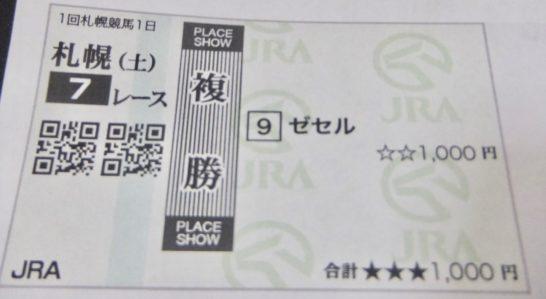 伊藤さんの馬券術、馬券の買い方は、馬連