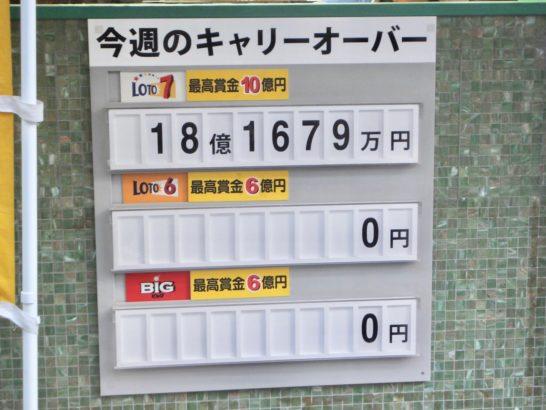 同じ番号、数字のロト6を買い続け、当たる人は当たってた。3等、高額当選者!