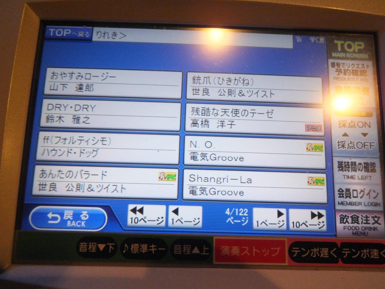 1人カラオケ・曲目リストvol4・電気Groove・鈴木雅之・画像写真