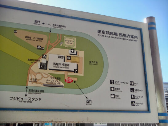 レース映像見られる競馬場→東京、中山、京都、阪神、中京、小倉、新潟、福島、函館、札幌