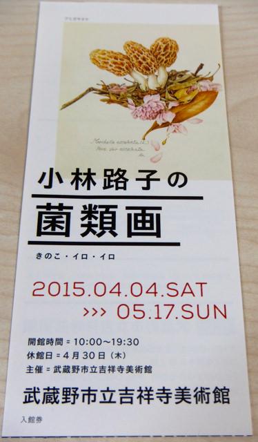 小林路子の菌類画「きのこ・イロ・イロ/吉祥寺美術館」を見て来た。マツタケモドキ? グッズコーナーにきのこの山はなかったものの、ガチャガチャを発見