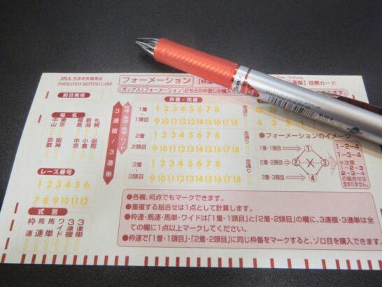 競馬を100円で楽しむ。100円から増やすの希望の星