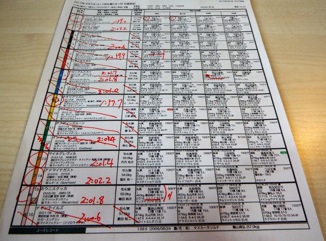札幌12レース、日高特別(芝2000m)競馬予想。馬券本命、ネオユニヴァース産駒ネオリアリズム(Cルメール騎手、堀宣行厩舎)2015.9.5