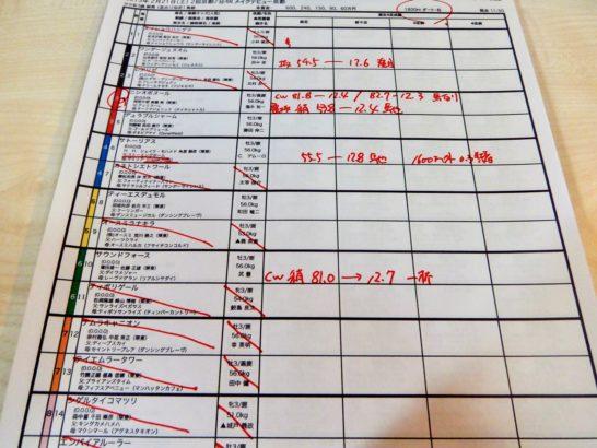 調教、追い切りの数字を新馬戦の競馬予想メインファクターした際のデメリット