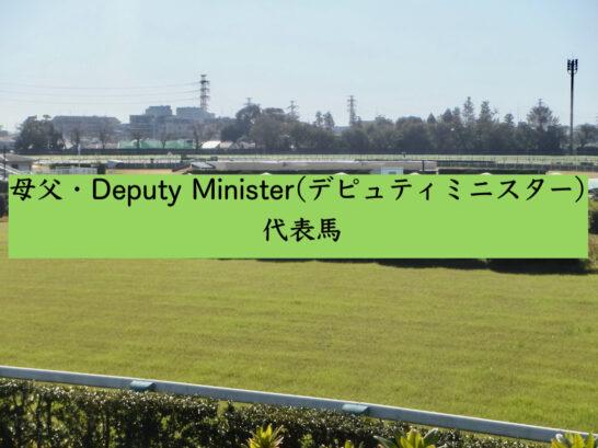 母父・Deputy Minister(デピュティミニスター)代表馬