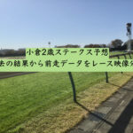 小倉2歳ステークス予想。過去の結果から前走データをレース映像分析
