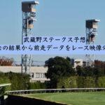 武蔵野ステークス予想。過去の結果から前走データをレース映像分析