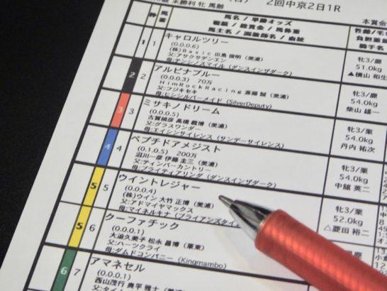 京都2歳ステークスの過去データから2019年の競馬予想に活かすべく、結果から傾向をレース映像分析