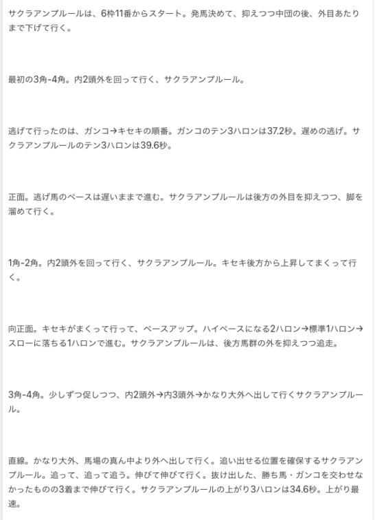 前走は、日経賞。動画回顧