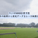 ラジオNIKKEI賞予想。過去の結果から前走データをレース映像分析