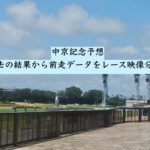 中京記念予想。過去の結果から前走データをレース映像分析