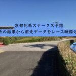 京都牝馬ステークス予想。過去の結果から前走データをレース映像分析