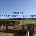 京阪杯予想。過去の結果から前走データをレース映像分析