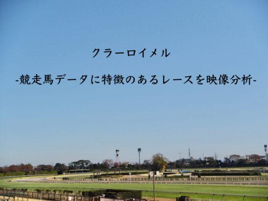 クラーロイメル-競走馬データに特徴のあるレースを映像分析-